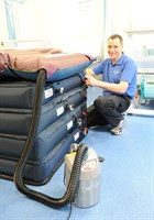 Tony Byatt Equipment Library Hover Mattress