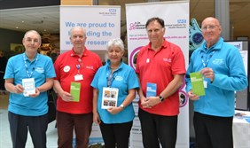 Patient Research Ambassadors volunteer in our hospitals