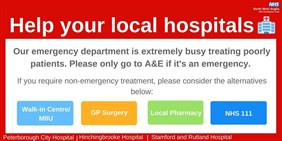 Help your local hospitals