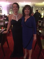 Mel and Lorraine organised the charity ball